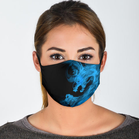 Blue Smoke Dragon Protective Filter Mask (Includes 2 PM2.5 Filters)