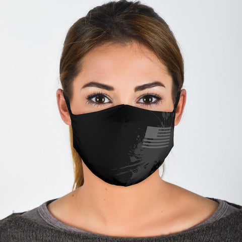 FILTER VERSION The Black Flag Warrior Protective Filter Mask (Includes 2 PM2.5 Filters)