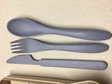 Load image into Gallery viewer, Reusable Travel Cutlery Set - Wheat