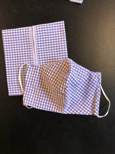 Reusable Cloth Face Mask with matching Pouch