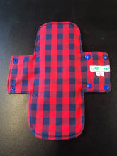 Load image into Gallery viewer, Special Launch Price - Reusable Sanitary Wear: Red & Blue Check