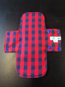 Special Launch Price - Reusable Sanitary Wear: Red & Blue Check