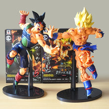 Load image into Gallery viewer, Resurrected Super Saiyan Goku & Bardock (9in Tall)
