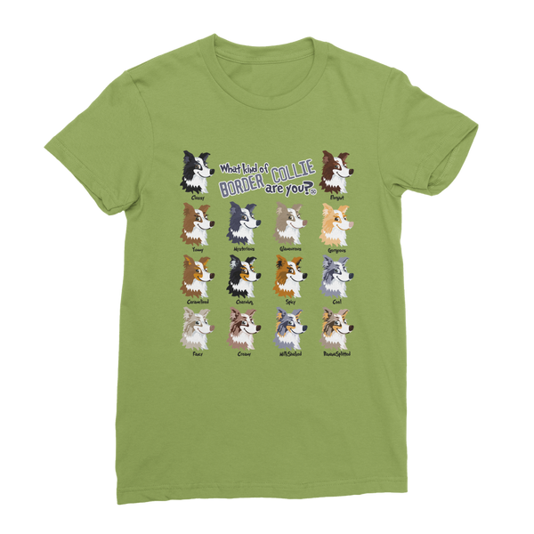 Funny Colors - Border Collie | Women's T-Shirt