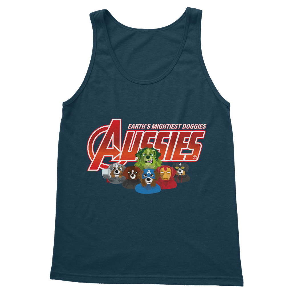 Aussies - Earth Mightiest Doggies | Unisex Tank Top