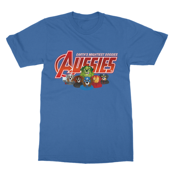 Aussies - Earth Mightiest Doggies | Unisex T-Shirt