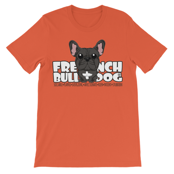 French Bulldog - DGBigHead | Kids T-Shirt