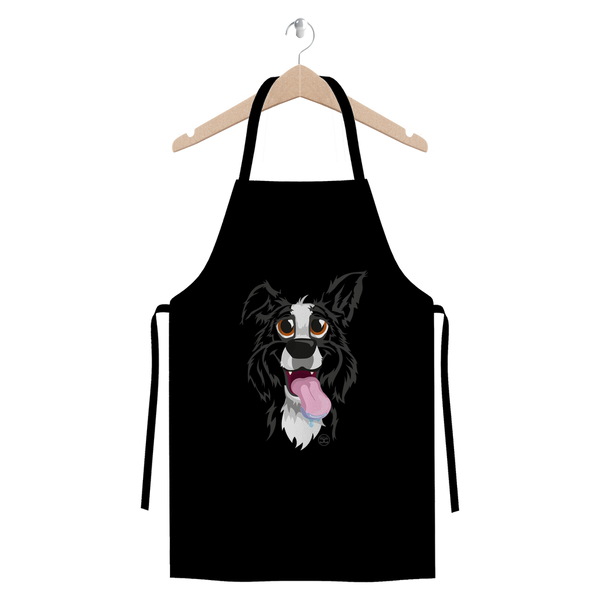 Another Funny Border Collie | Premium Apron
