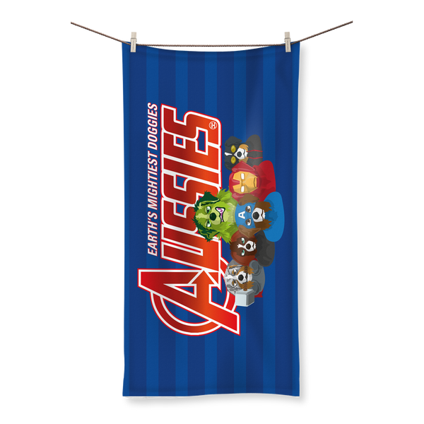 Aussies - Earth Mightiest Doggies | All Over Towel