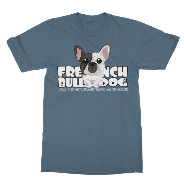 French Bulldog - DGBigHead | Unisex T-Shirt