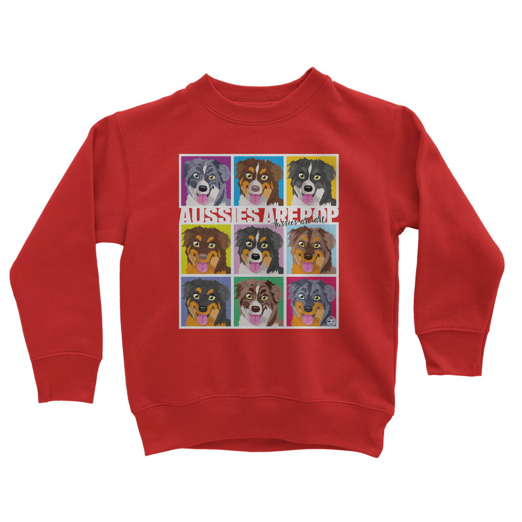 Aussies are Pop | Kids Sweatshirt