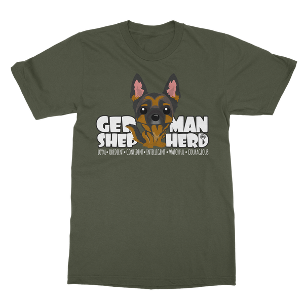 German Shepherd - DGBighead | Unisex T-Shirt