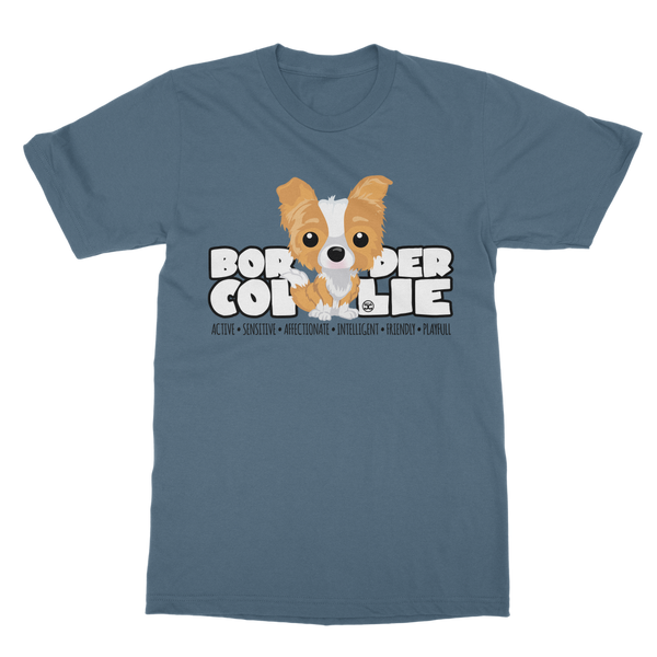 Border Collie - DGBigHead | Unisex T-Shirt