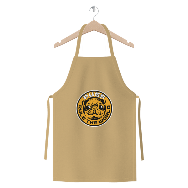 Pugs Rule the World | Premium Apron