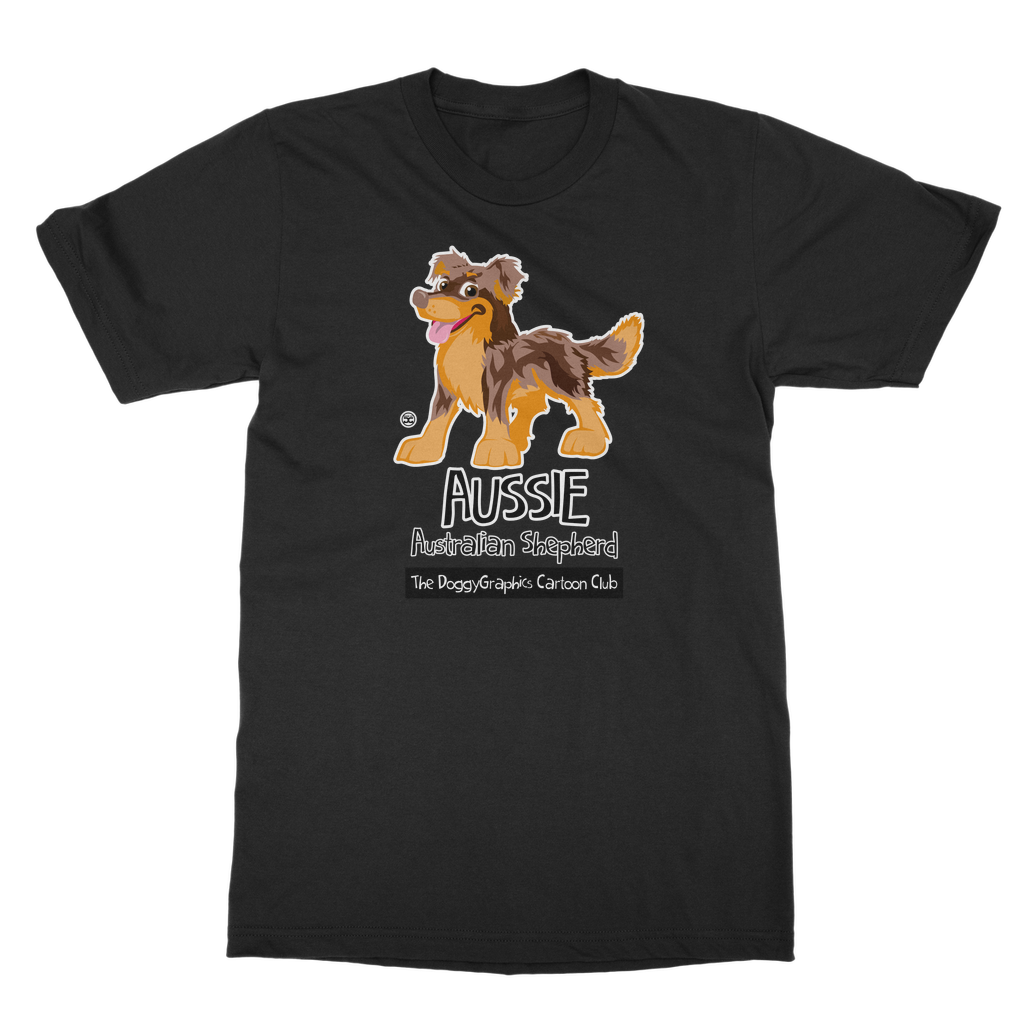 Australian Shepherd – Cartoon Club | Unisex T-Shirt