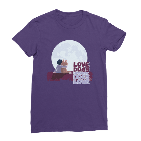 Love Dogs | Premium Women's T-Shirt
