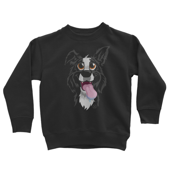 Another Funny Border Collie | Kids Sweatshirt