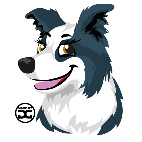 Border Collie | Dogmoticon Set