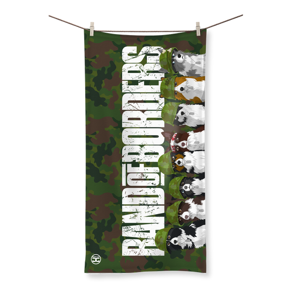 Band Of Borders (Jungle) | All Over Towel