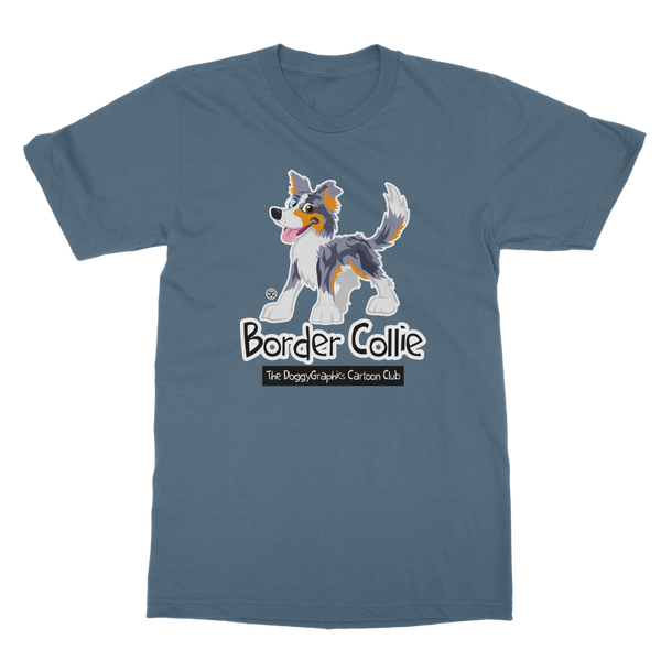 Border Collie - Cartoon Club | Unisex T-Shirt