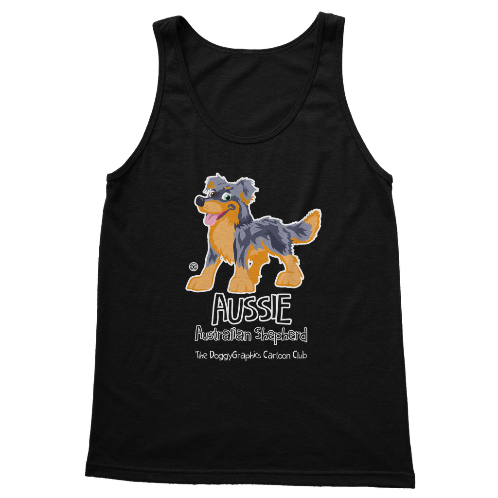 Australian Shepherd – Cartoon Club | Women's Tank Top