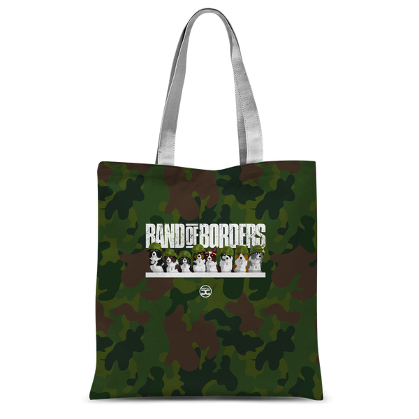Band Of Borders (Jungle) All Over Tote Bag