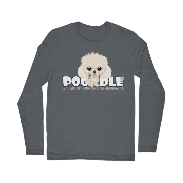 Poodle - DGBigHead | Long Sleeve T-Shirt