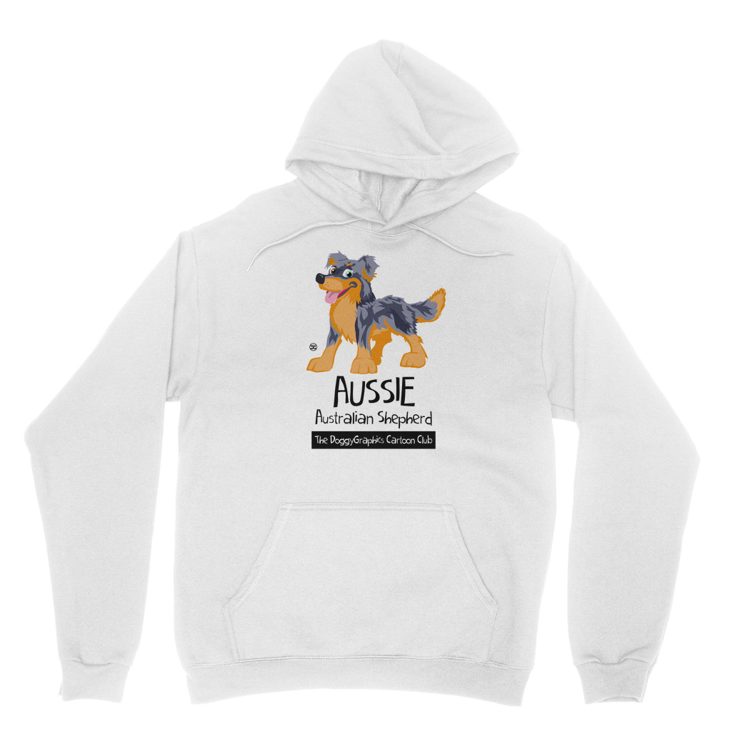 Australian Shepherd – Cartoon Club | Unisex Hoodie