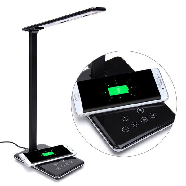 Wireless Charging LED Lamp