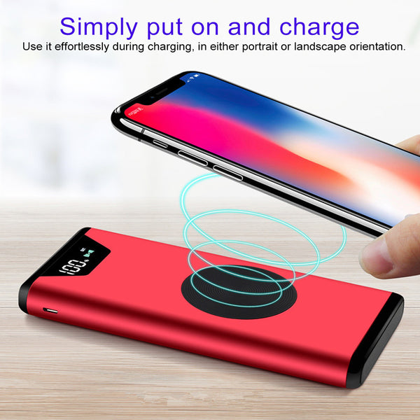 20,000MH Wireless Charging Power Bank