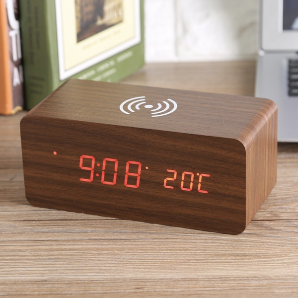 Wireless Charging Alarm Clock