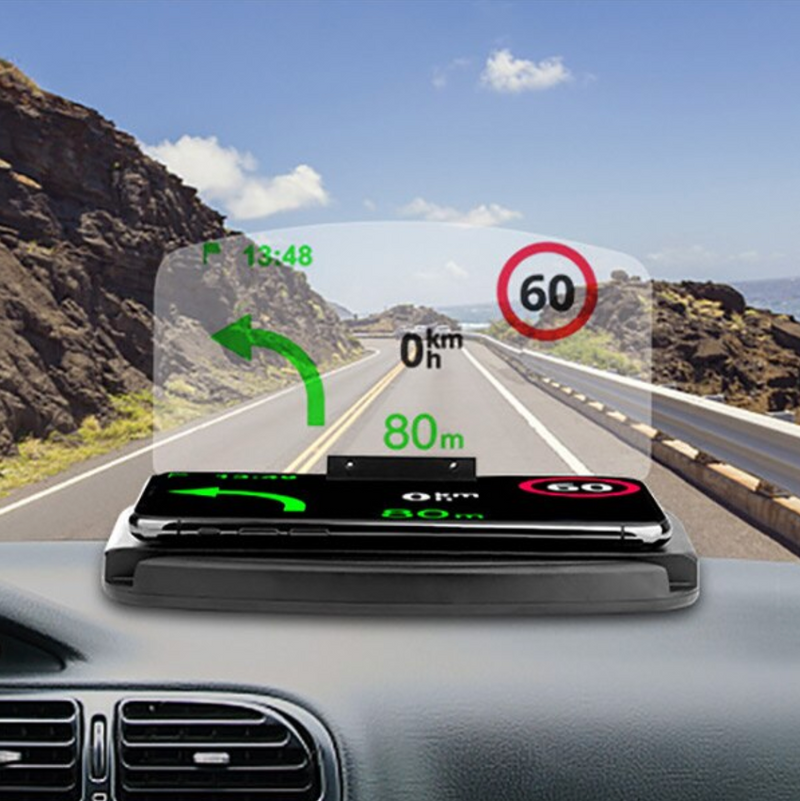 Wireless Charging Heads Up Display