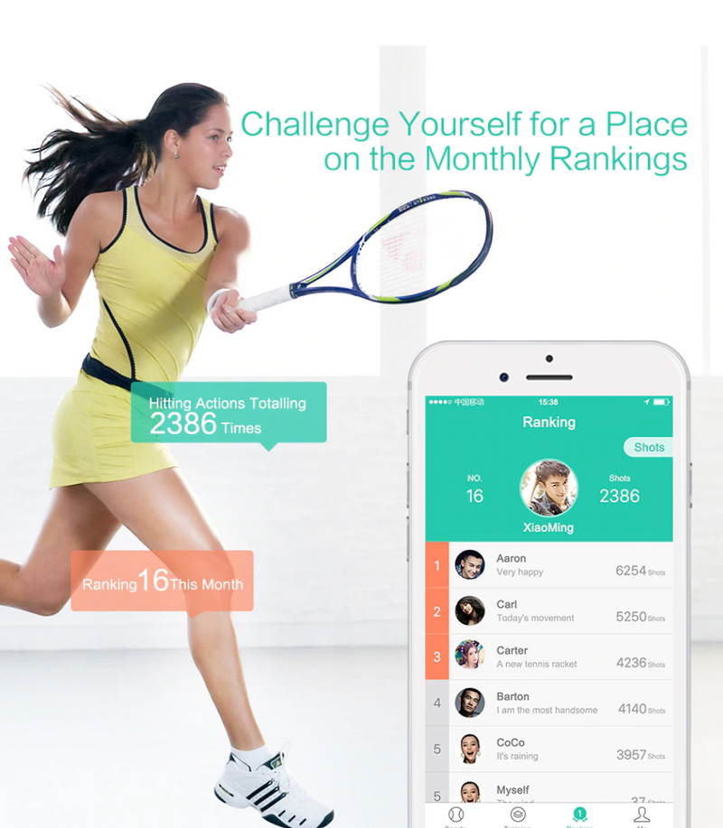 Tennis Racket Tracking Sensor