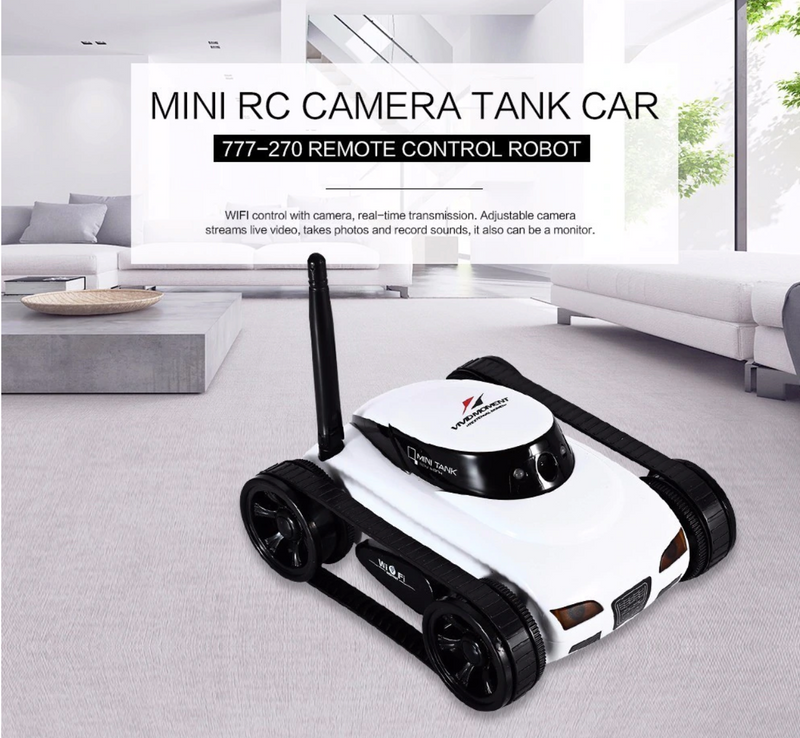 Iris Wifi Car with Camera