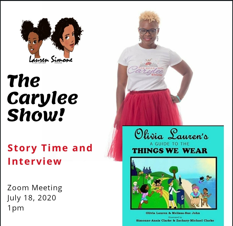 Olivia Lauren reads for the Carylee Show