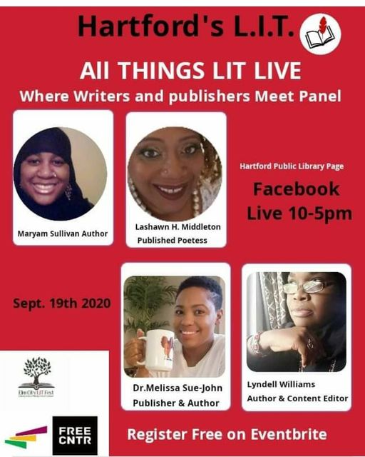 Hartford Public Library presents Hartford LIT All things Lit Live!