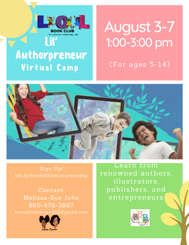virtual summer camp for children writers