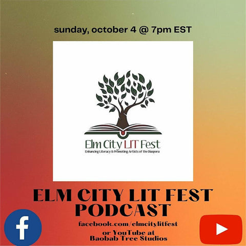 Lauren simone pubs on elm city festival podcast on FB LIVE! We will talk to the founders of and young authors/artists from Lauren Simone Publishing House!