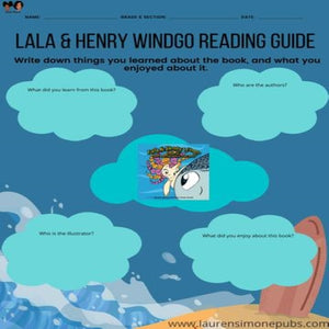 Lala and Henry Wingo's FREE Reading Guide | Lauren Simone Pubs