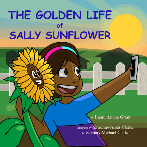Book: The Golden Life of Sally Sunflower | Lauren Simone Pubs