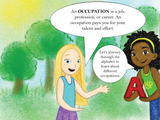 Book: Olivia Lauren's Occupations A to Z: A Guide to Jobs and Careers | Lauren Simone Pubs