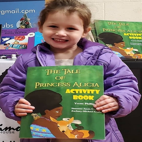 The Tale of Princess Alicia Coloring Book, Yvette Phillips | Lauren Simone Pubs