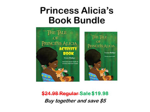 The Tale of Alicia book bundle