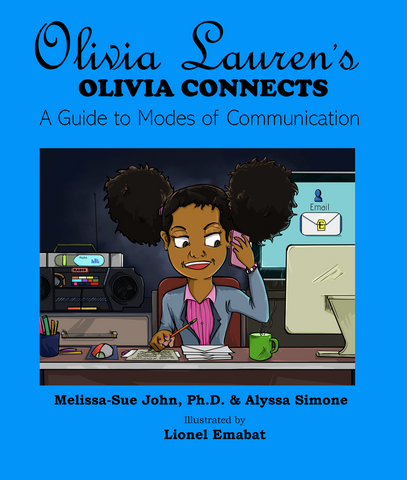 Communication book: Olivia Lauren's Olivia Connects: A Guide to Modes of Communication