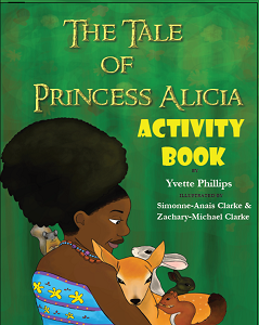 Book: The Tale of Princess Alicia Coloring Book | Lauren Simone Pubs