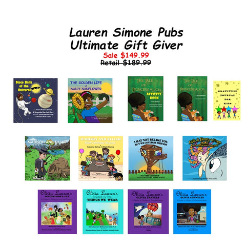Books: Lauren Simone Ultimate Gift Bundle | Lauren Simone Pubs