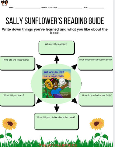 Activity: Reading Guide for The Golden Life of Sally Sunflower
