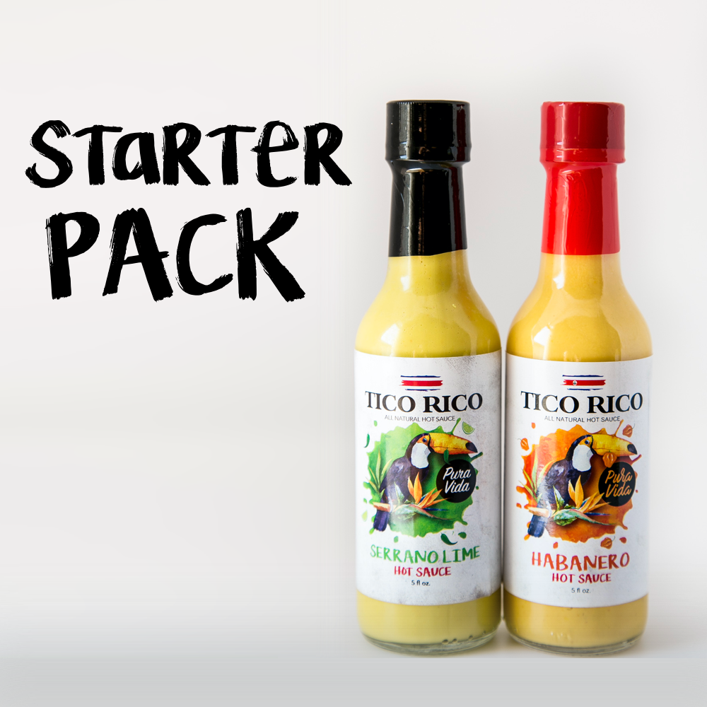 Tico Rico Hot Sauce Starter Kit (2 pack)
