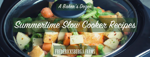 Summertime Slow Cooker Recipes