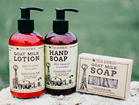 Fredericksburg Farms Bath and Body Products